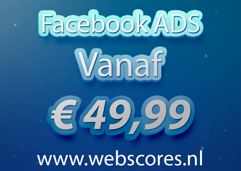 Goedkoop adverteren via facebook